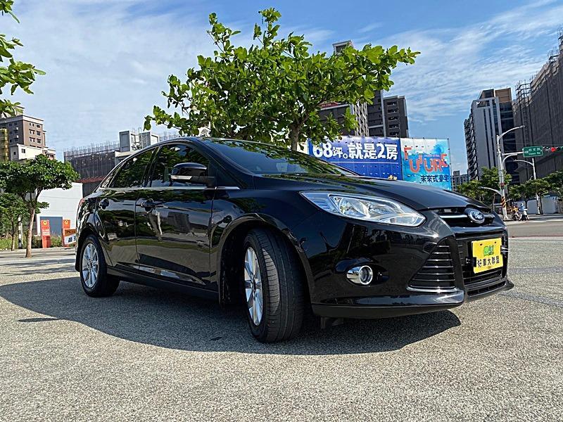 2013年 Ford Focus 4D 1.6 汽油豪華型