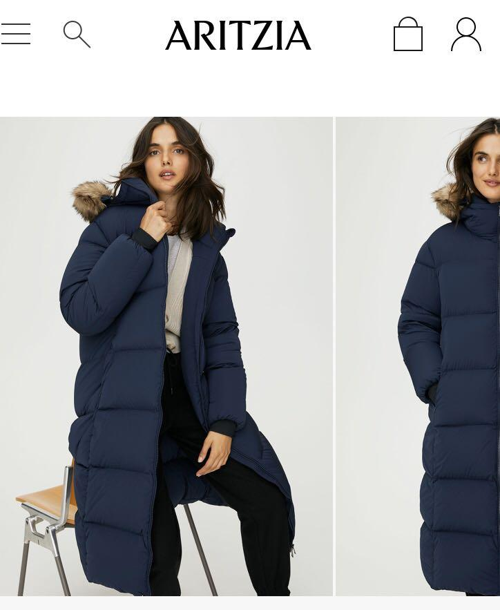 Aritzia The Group by Babaton Park City Long Puffer