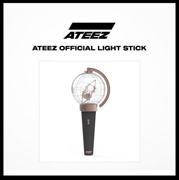 [ATEEZ] OFFICIAL LIGHSTICK (CTB if serious buyer only)