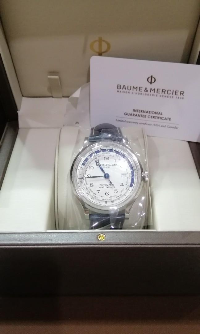 Baume and Mercier World Timer IWC Patek AP Zenith Rolex Omega Grand Seiko GMT