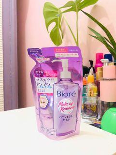 Biore make up remover