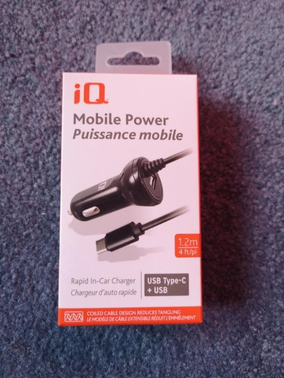 Brand new iQ in car charger USB C