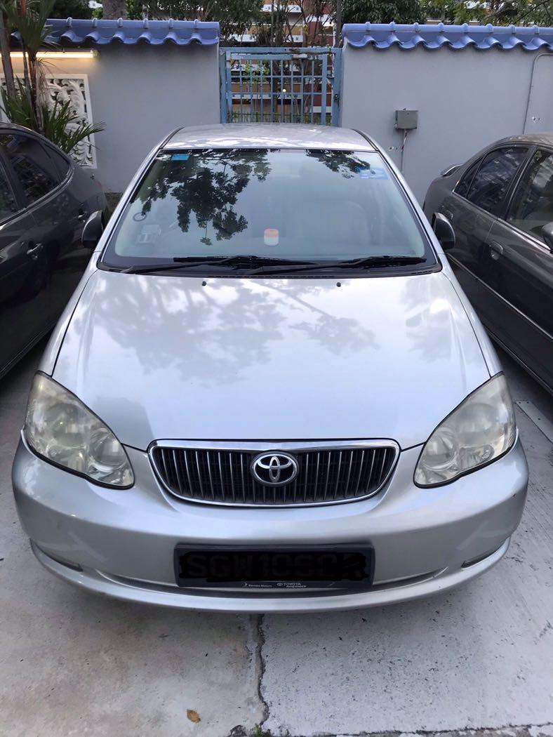 Car Rental Available @ $250/weekly Call/Wa 81448822/81448811