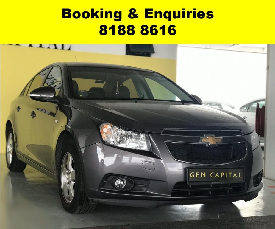 Chevrolet Cruze 50% OFF CIRCUIT BREAKER PERIOD to assist PHV drivers/Self-employed in coping with the Covid-19 situation. Whatsapp 8188 8616 to enjoy special rates & Travel with a peace of mind with just $500 deposit driveaway