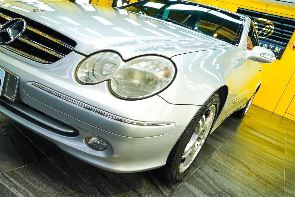 自售狀況很好的車!賓士CLK240!因為換車才割愛哦!