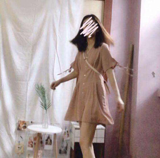 cute pink dress(pants)