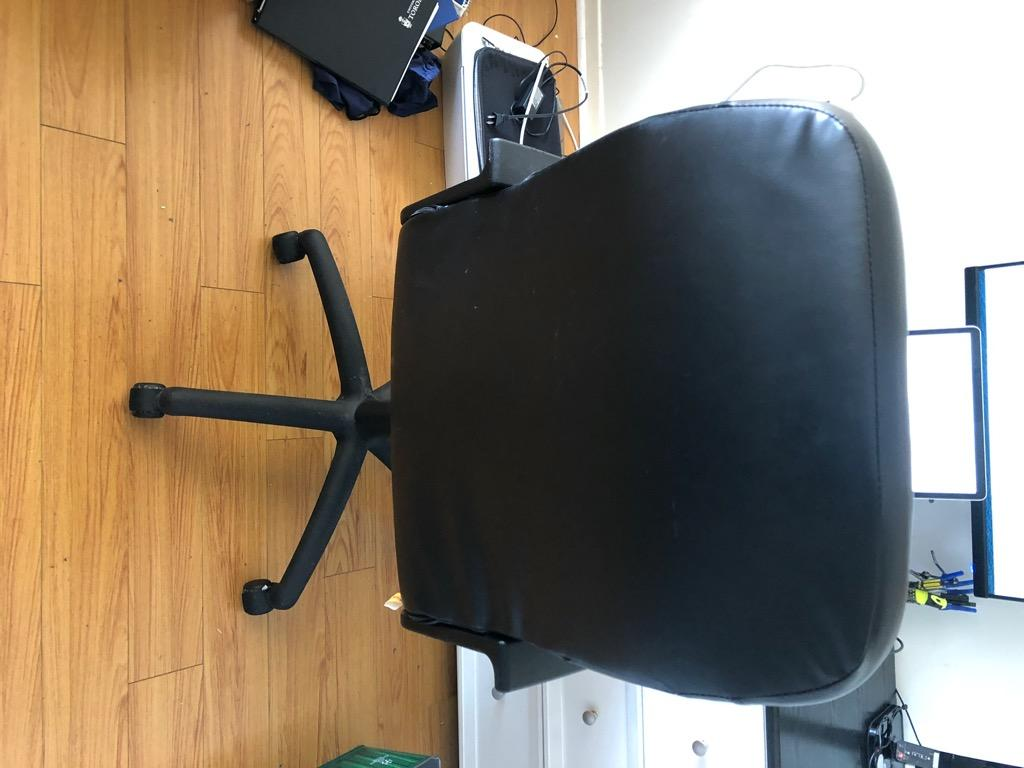 Ergonomic Office Chair Executive Bonded Leather Computer Chair (Pick Up only)