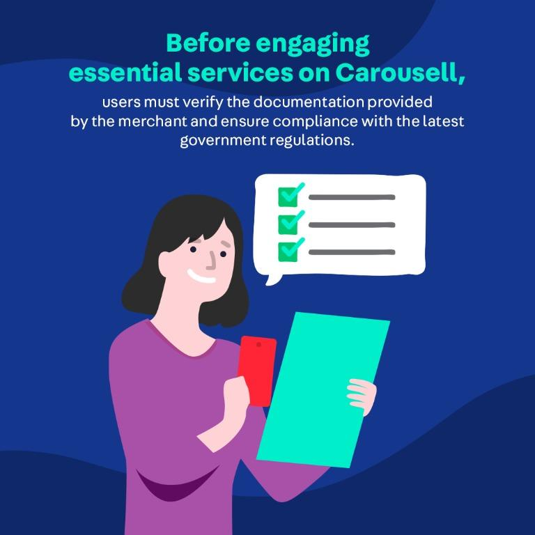 """Find out how to identify and engage safely on Carousell with NEW """"Essential"""" tag"""