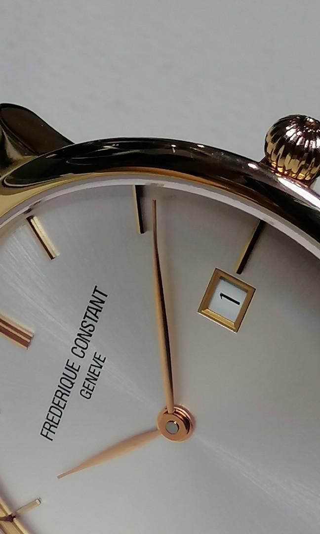 BRAND NEW Frederique Constant Rose Gold 18k Automatic Brand  new in box  Chopard Patek Vacheron Constantin Blacpain JLC IWC Chopard Cartier Prada LV Chanel