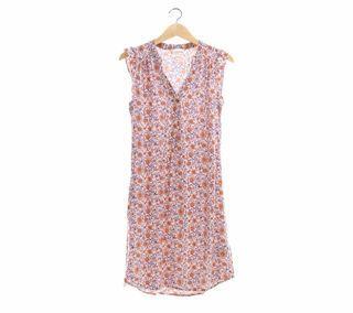 H&M Pink Floral  Mini Dress