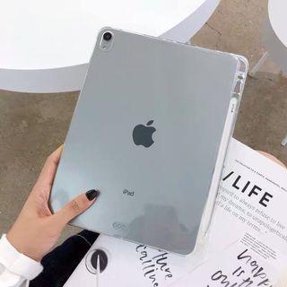 #全新 iPad 2018/2017 9.7吋 清水模 保護殼 透明 可收納applepencil