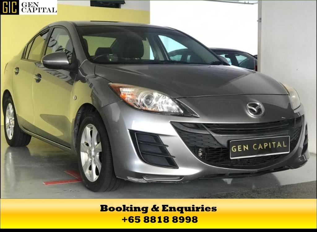 MAZDA 3 - UP FOR RENT! MAY CIRCUIT BREAKER PROMOTION ON RIGHT NOW! $500* DEPOSITS TO DRIVE AWAY! LALAMOVE/GRAB/GOJEK/PHV READY! CONTACT US NOW AT  +65 8818 8998!!