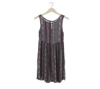 New Look Multi Color Mini Dress