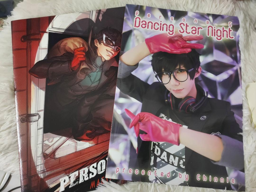 Persona 5 Fanbook Cosplay Work  by Chinnie / ArtBook by Maestro