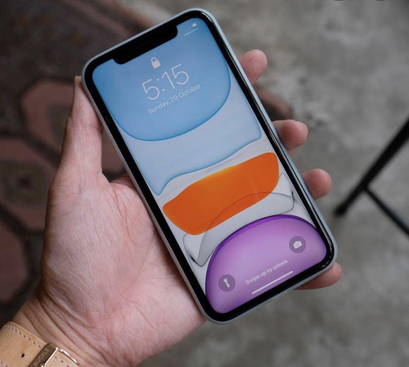 Purple iPhone 11