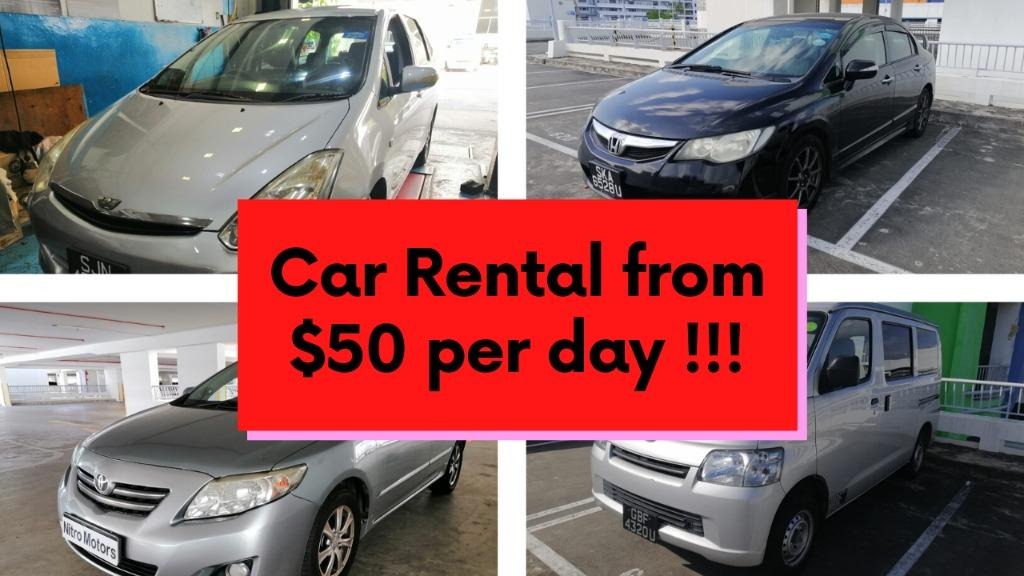 Rent Car East Area *CB discount!!! *Watsapp 96333593