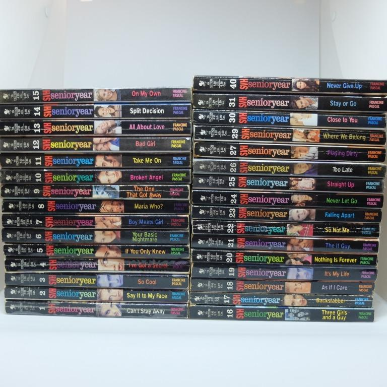 Sweet Valley High Senior Year #1-31 and 40 (except 28) Set by Francine Pascal
