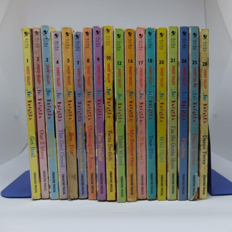 Sweet Valley Jr. High #1-28 (except 6,11,13,15,16,19,22,23,26,27) Set by Francine Pascal