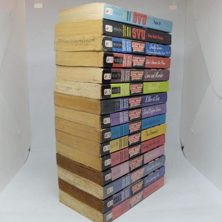 Sweet Valley University Thriller #1-18 (except 13,15,16) Set by Francine Pascal