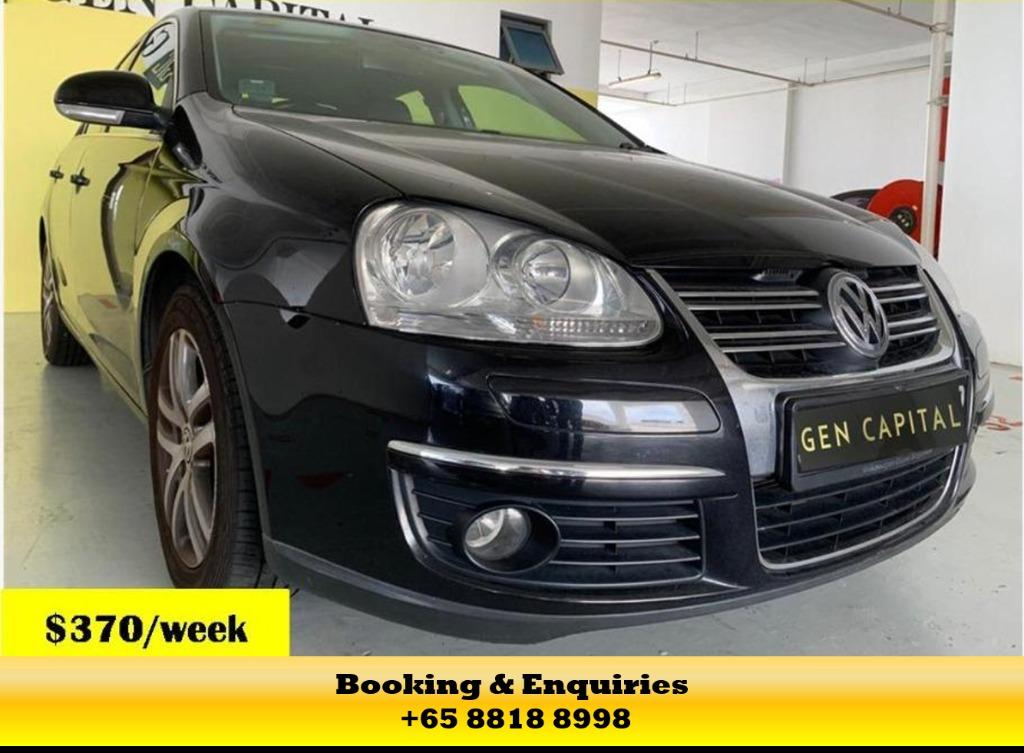 VOLKSWAGEN JETTA - MAY CIRCUIT BREAKER PROMOTION ON RIGHT NOW! $500* DEPOSITS TO DRIVE AWAY! LALAMOVE/GRAB/GOJEK/PHV READY! CONTACT US NOW AT  +65 8818 8998!