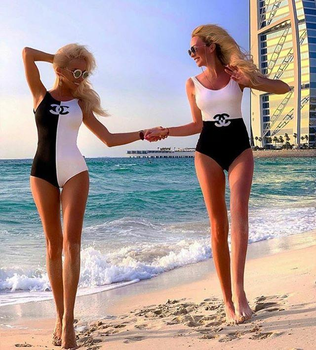 Chenal Women two style sister swimsuit free shipping