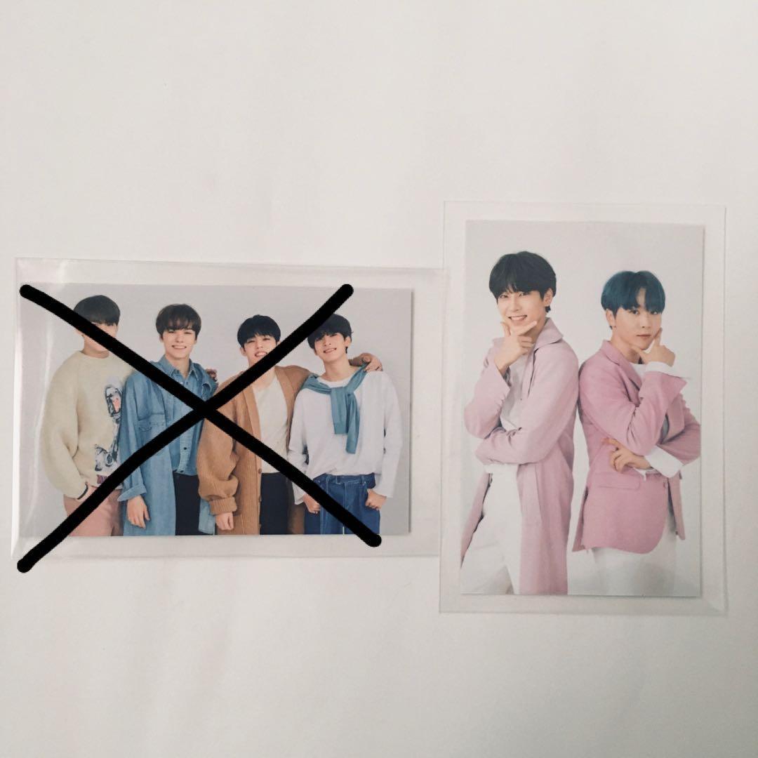 wts seventeen wonwoo concert trading cards/ photocards