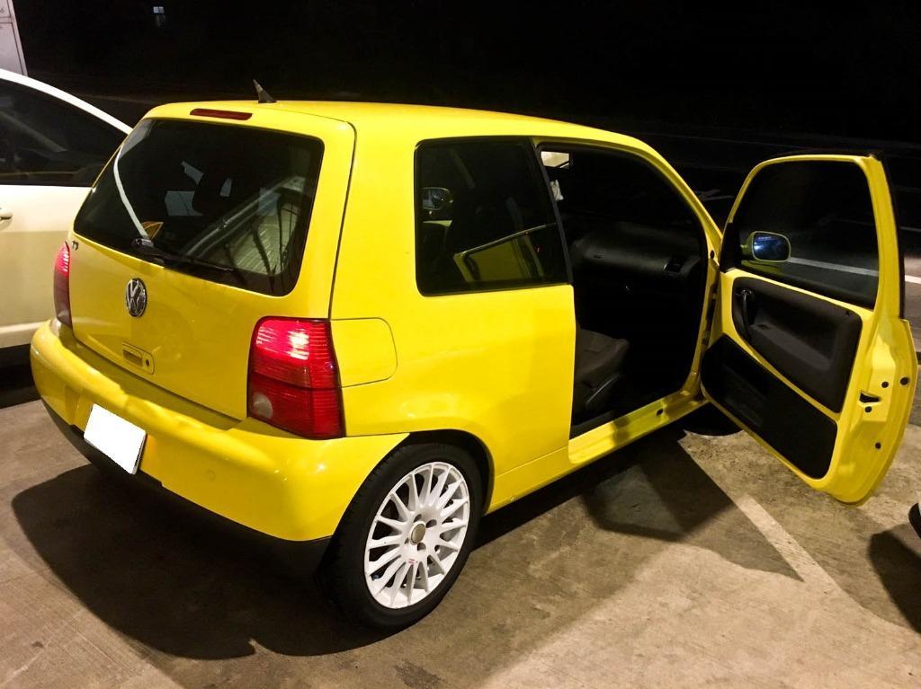 2003年 Lupo 1.4 環保材質免整理 歐系三門經典小車 內裝外觀都漂亮