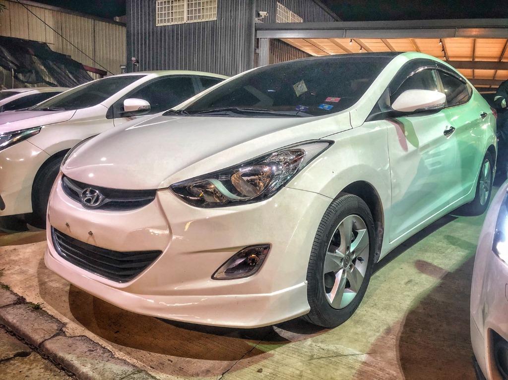 2012 Hyundai Elantra 1.8 旗艦款