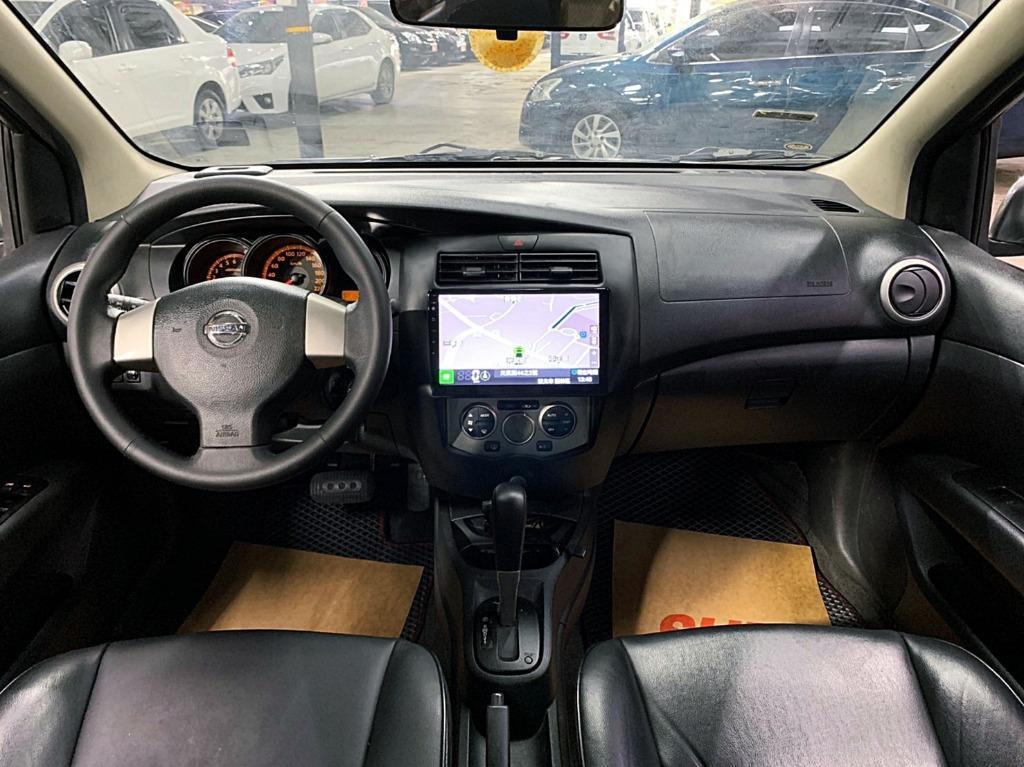 正2012年小改款 Nissan Livina 1.6豪華頂級版 軍綠灰 只賣20.8萬
