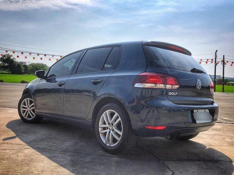 2012 Volkswagen Golf 1.4 TSI 淡淡的藍