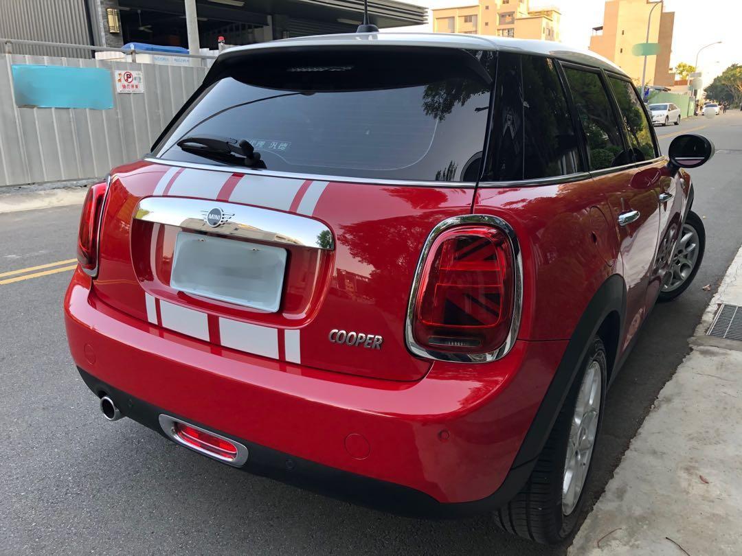 2018年 汎德總代理 MINI Cooper 5D 小改款1.5T 一手美車 原漆原鈑件 低里程保證實跑8千公里 原廠保固中