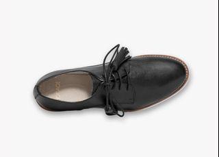 全新 BOCAGE 流蘇綁帶 小牛皮 皮鞋
