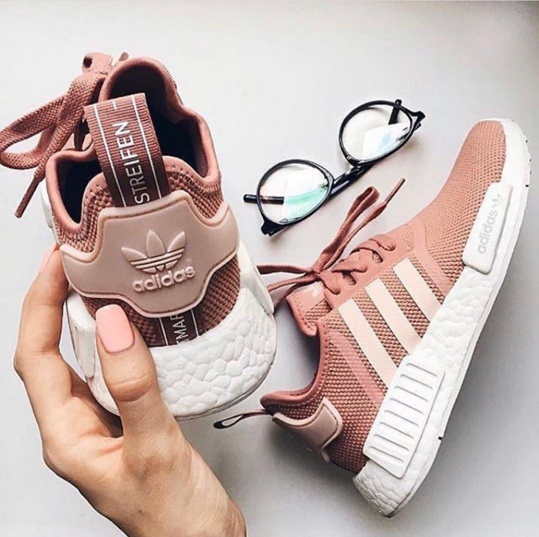 Adidas NMD rose gold, Women's Fashion