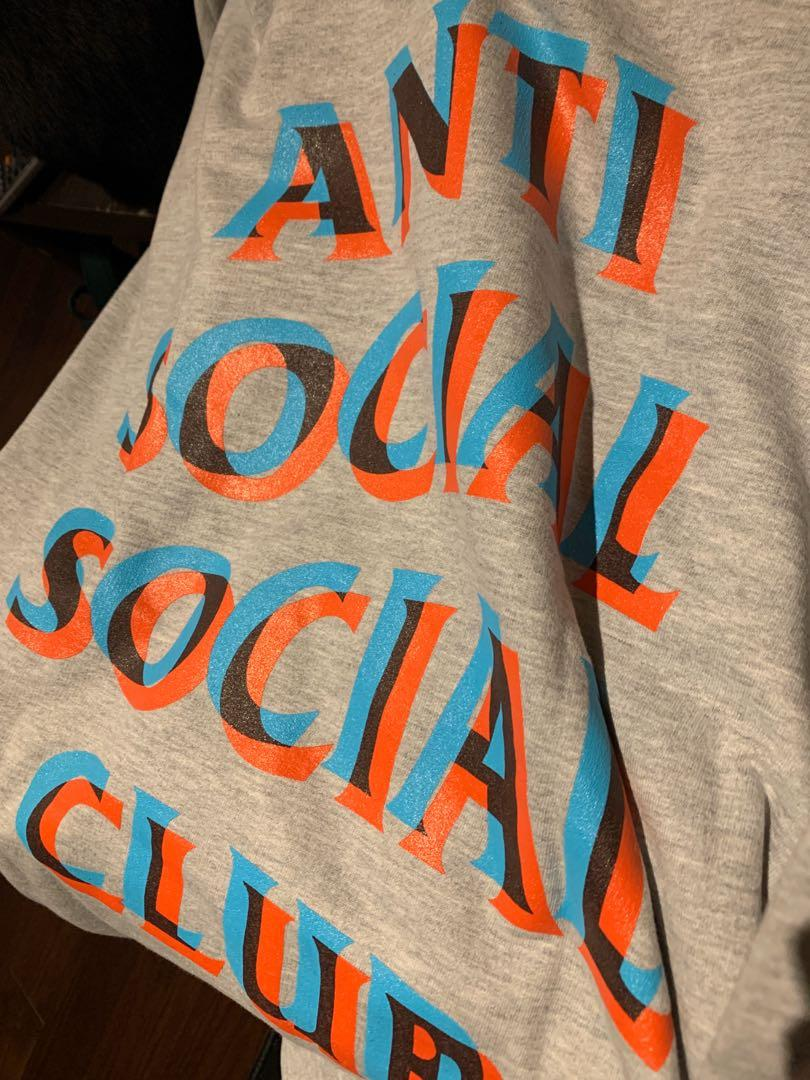 """Anti social social club - """"I'm Good"""" Hoodie Sz XL"""