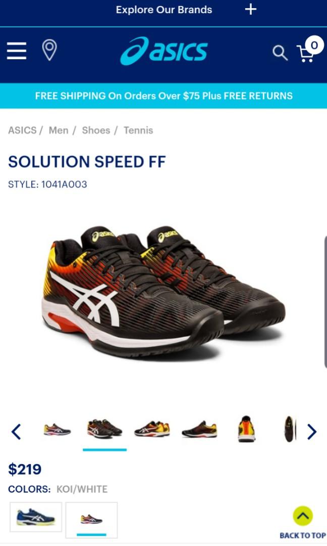 Asics Solution Speed FF Mens Tennis