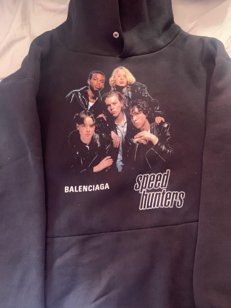 Balenciaga SpeedHunters Double Layer Hoodie - OVERSIZED