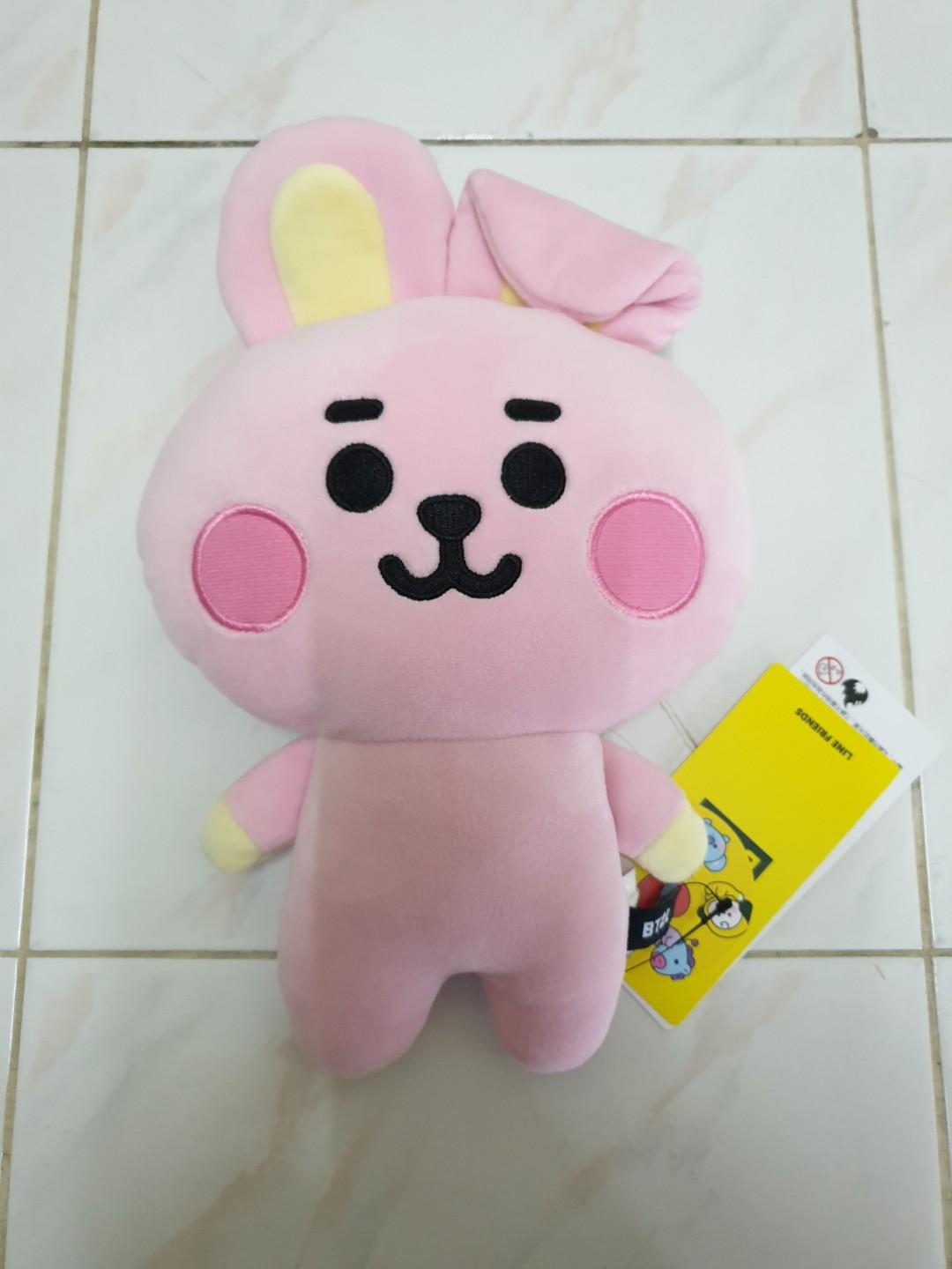BT21 BABY cooky flat body plush toy cushion bts jungkook