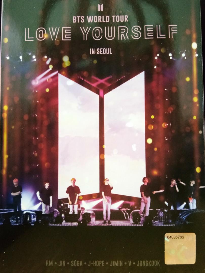 [BTS] DVD - BTS World Tour LOVE YOURSELF in Seoul (Malaysia edition)
