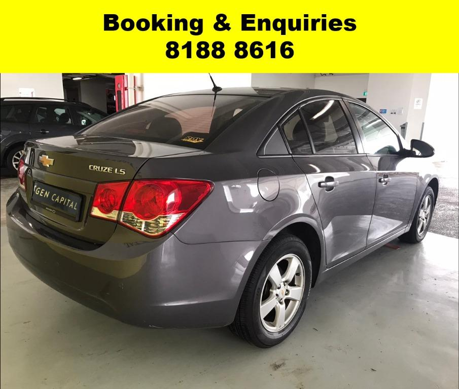 Chevrolet Cruze EARLY MOTHERS' DAY PROMO @ 50% OFF! FULLY SANITISED AND GROOMED BEFORE HANDING OVER! WHATSAPP 8188 8616 NOW TO RESERVE A CAR TODAY!