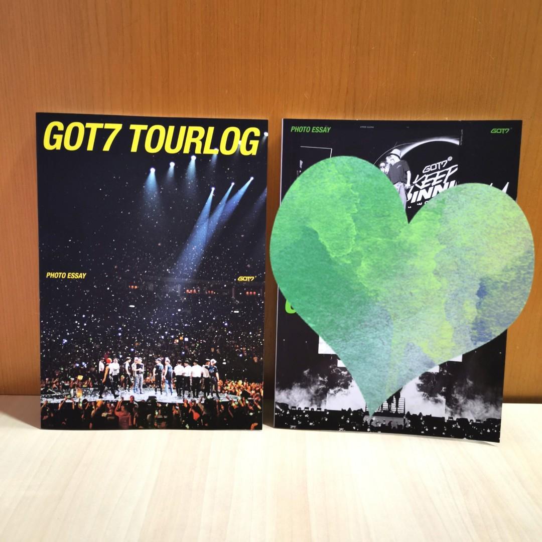 GOT7 Tourlog Photo Essay Vol.2 [DYE] NotByTheMoon - PREORDER Benefit