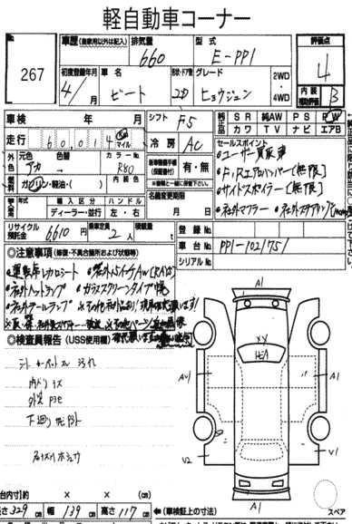 Honda beat pp1 Manual