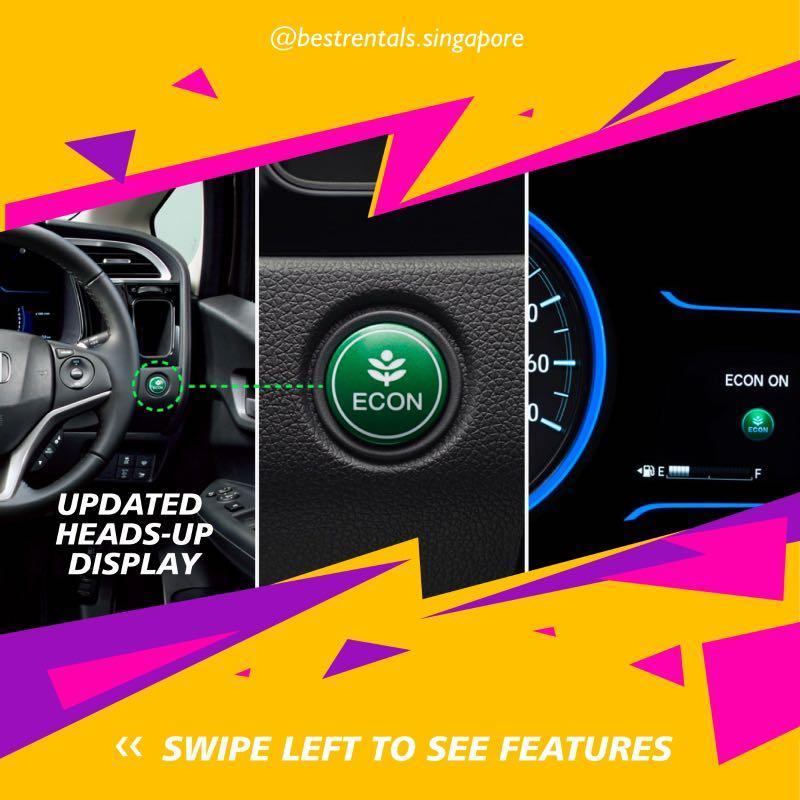 Honda Shuttle hybrid special promotion during CB 🔆