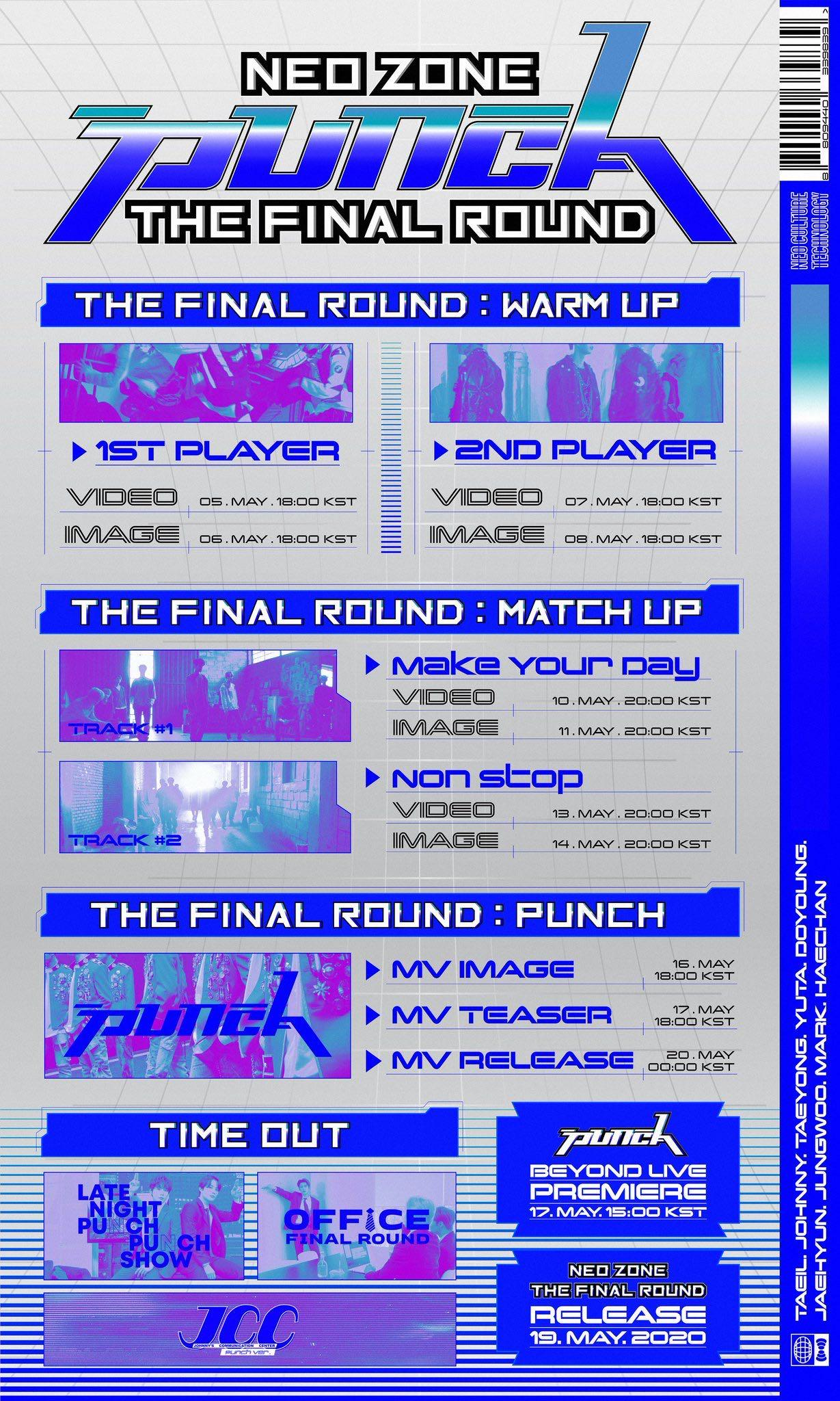 NCT127 NCT 127 Neo Zone: The Final Round REPACKAGE