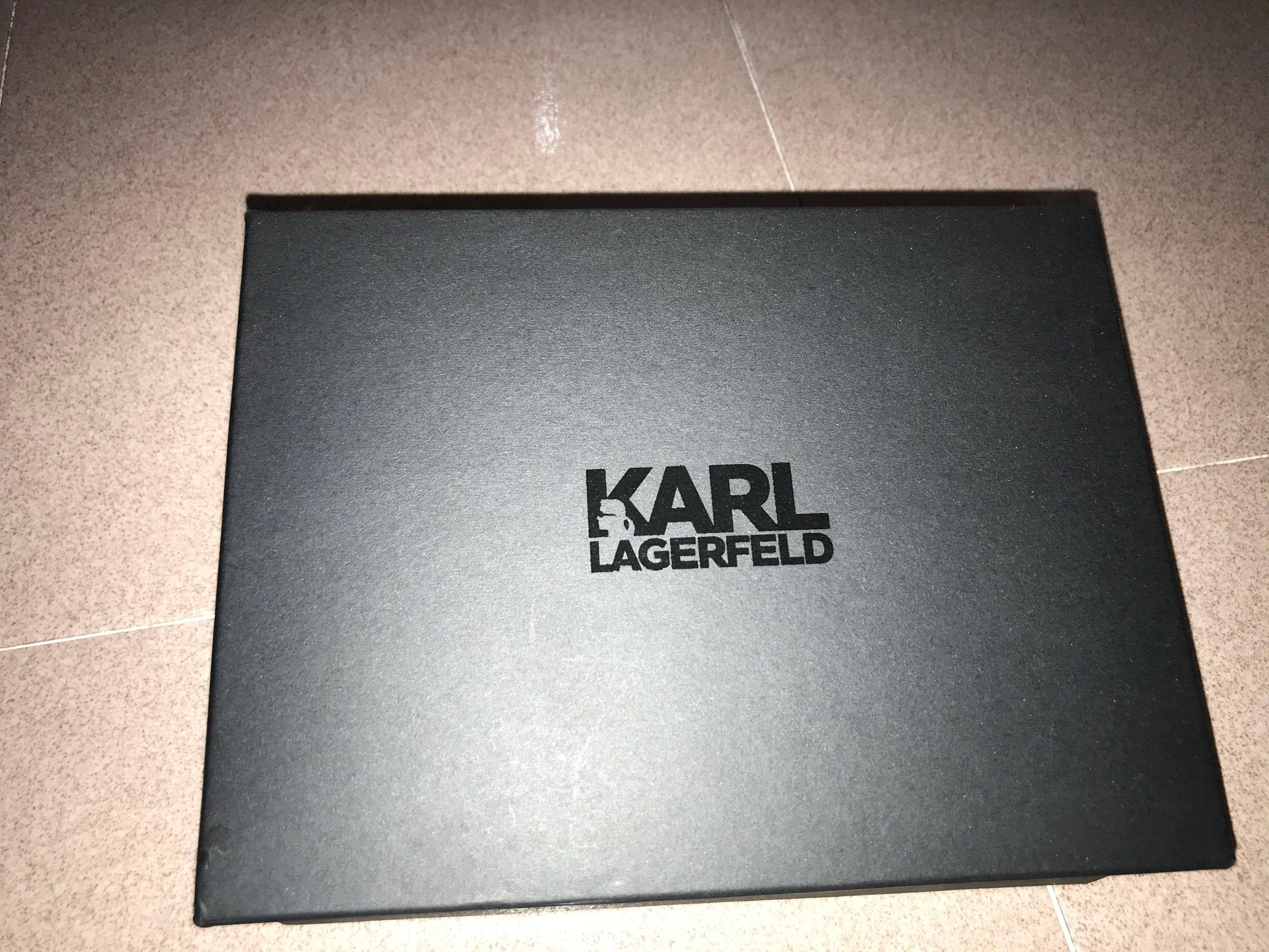 Original Karl Lagerfeld shine minaudière clutch// LAST CALL/ SELLING FSSTT!!😍😍
