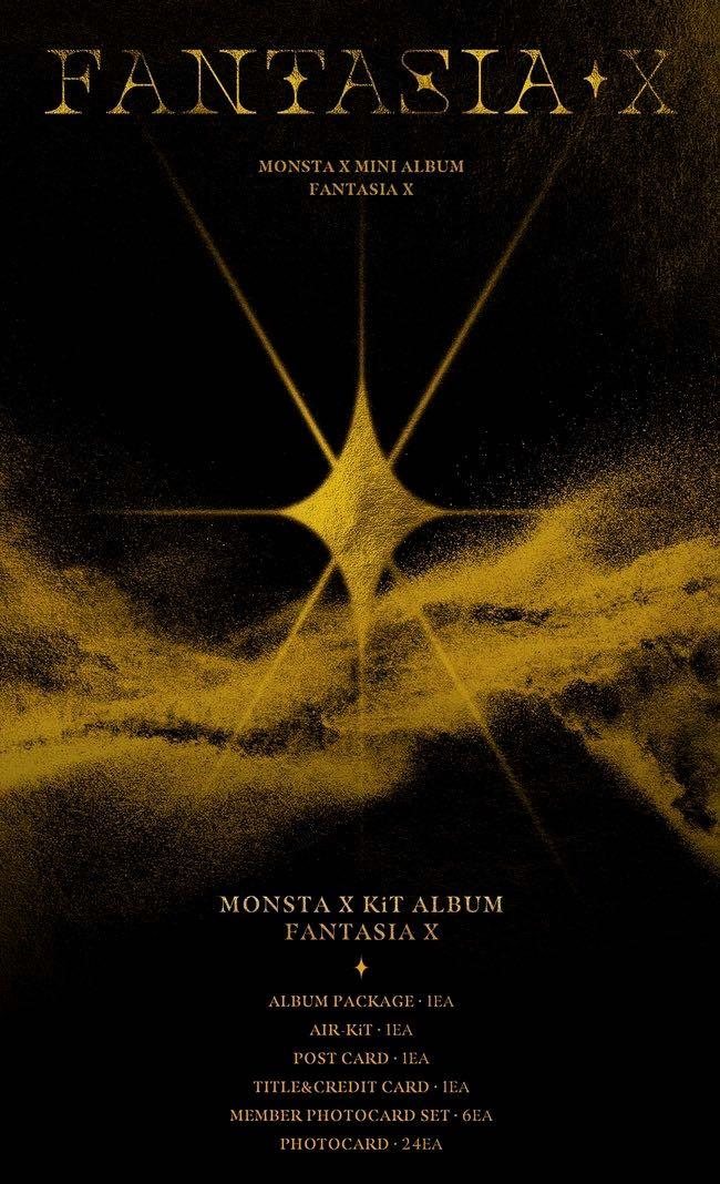 ✨PREORDER🇲🇾#MONSTAX Mini Album [FANTASIA X] *choose ver