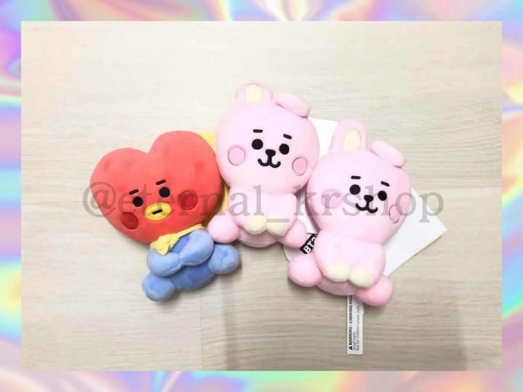 [Ready Stock] BT21 Baby Series 12cm sitting doll 💓