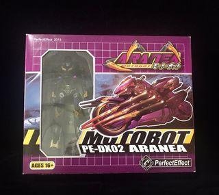 Transformers MOTOBOT PE-DX02 Aranea