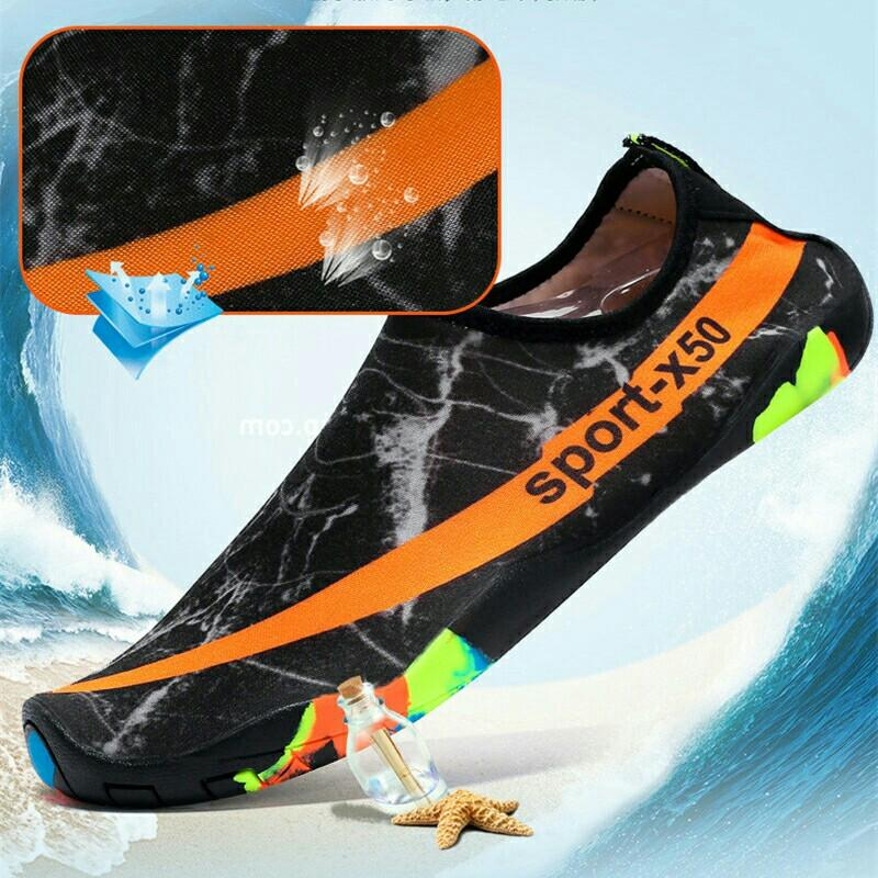 Unisex Sneakers Outdoor Beach Swimming Diving Quick Dry Anti-slip Shoes - Size: 43