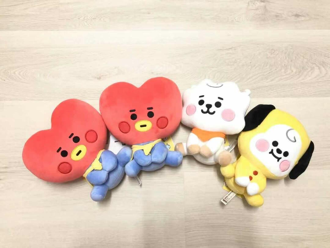 [WTS]BT21 Baby series 20cm sitting doll [READY STOCK]