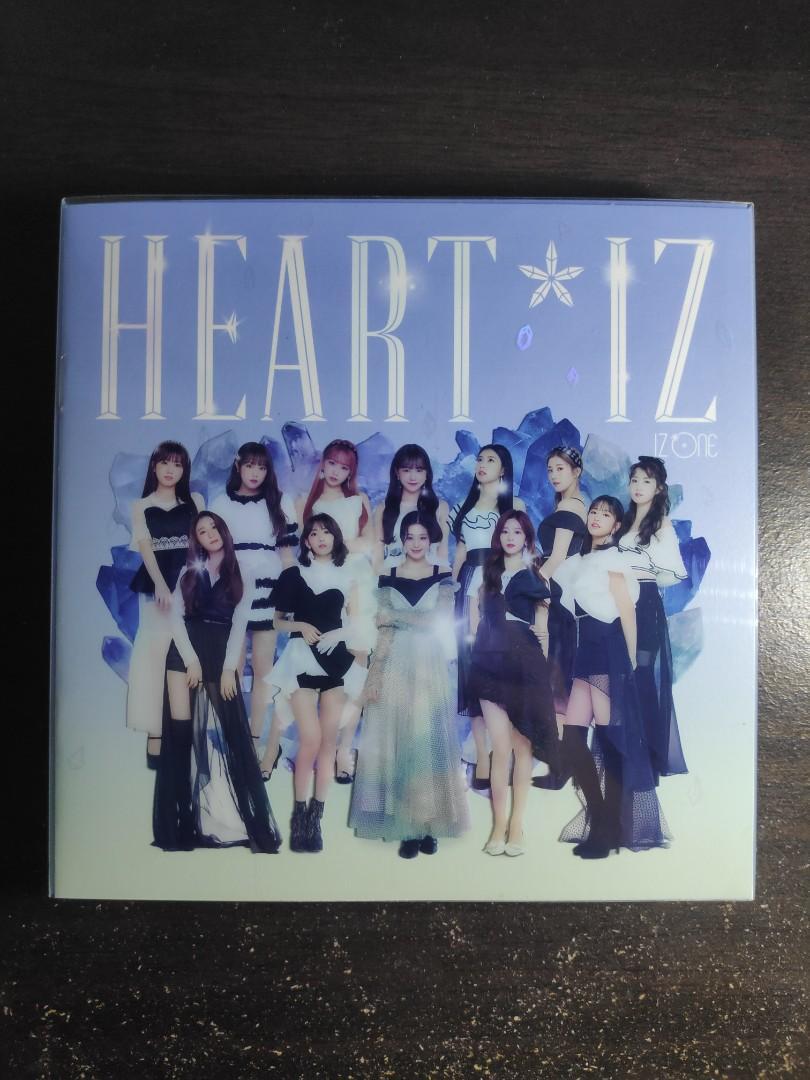 [WTT] IZ*ONE IZONE HEART IZ Sapphire Group ver. to Violeta  Group ver.